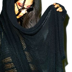 House of Widow THE KISS OF DEATH CARDIGAN